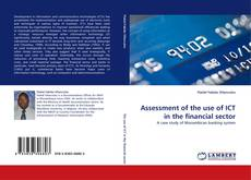 Bookcover of Assessment of the use of ICT in the financial sector
