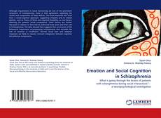 Bookcover of Emotion and Social Cognition in Schizophrenia