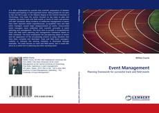 Capa do livro de Event Management