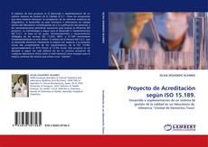 Bookcover of Proyecto de Acreditación según ISO 15.189.