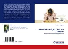 Bookcover of Stress and College/University Students