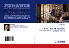 Bookcover of Now Think About That!
