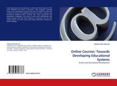 Capa do livro de Online Courses: Towards Developing Educational Systems