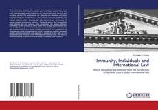 Bookcover of Immunity, Individuals and International Law