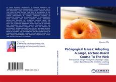 Bookcover of Pedagogical Issues: Adapting A Large, Lecture-Based Course To The Web
