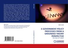 Bookcover of E-GOVERNMENT POLICY PROCESSES FROM A GROUNDED THEORY PERSPECTIVE