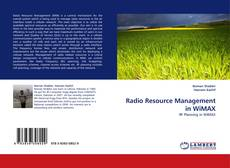 Buchcover von Radio Resource Management in WiMAX