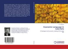 Bookcover of Economic Language in Luke-Acts