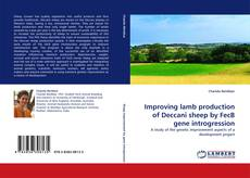 Bookcover of Improving lamb production of Deccani sheep by FecB gene introgression