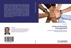 Bookcover of Cultural diversity management
