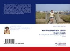 Food Operation in Senior High Schools kitap kapağı