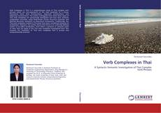 Verb Complexes in Thai kitap kapağı