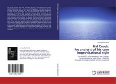 Portada del libro de Hal Crook:  An analysis of his core  improvisational style