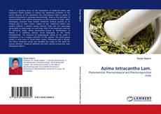 Обложка Azima tetracantha Lam.