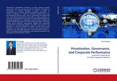 Couverture de Privatisation, Governance, and Corporate Performance
