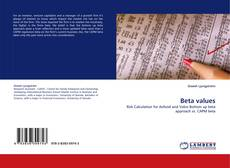 Bookcover of Beta values