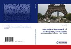 Bookcover of Institutional Framework of Participatory Mechanisms