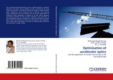 Couverture de Optimisation of accelerator optics