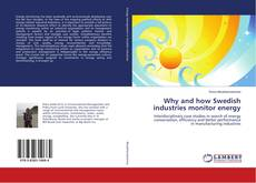 Capa do livro de Why and how Swedish industries monitor energy