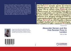 Capa do livro de Alexander Herzen and the Free Russian Press in London