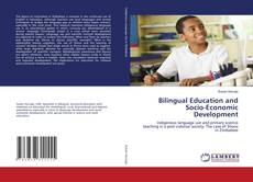 Capa do livro de Bilingual Education and Socio-Economic Development