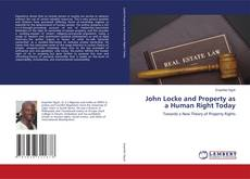 Bookcover of John Locke and Property as a Human Right Today