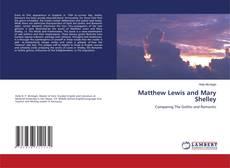 Matthew Lewis and Mary Shelley kitap kapağı