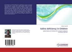 Обложка Iodine deficiency in Children