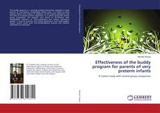 Copertina di Effectiveness of the buddy program for parents of very preterm infants