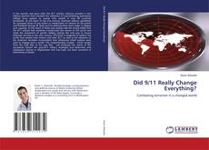 Capa do livro de Did 9/11 Really Change Everything?