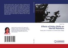 Bookcover of Effects of Policy Shifts on Marital Relations