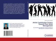 Buchcover von Artists' Satisfaction Factors Toward Their Artist Management