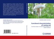 Capa do livro de Functional characterization of casing soil
