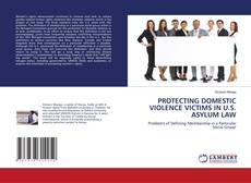 Capa do livro de PROTECTING DOMESTIC VIOLENCE VICTIMS IN U.S. ASYLUM LAW