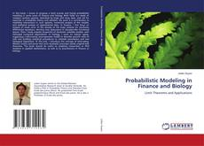 Probabilistic Modeling in Finance and Biology kitap kapağı