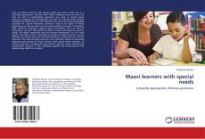 Bookcover of Maori learners with special needs