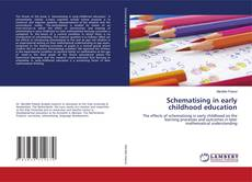 Обложка Schematising in early childhood education