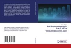 Bookcover of Employee reporting in South Africa