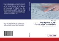 Borítókép a  Investigation of RHF Contracts in a Supply Chain - hoz