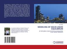 Bookcover of MODELING OF SOLID-LIQUID EQUILIBRIUM