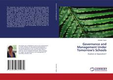 Portada del libro de Governance and Management Under Tomorrow's Schools