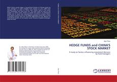 Buchcover von HEDGE FUNDS and CHINA'S STOCK MARKET
