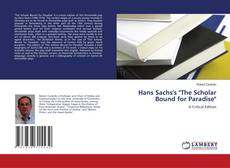 """Bookcover of Hans Sachs's """"The Scholar Bound for Paradise"""""""