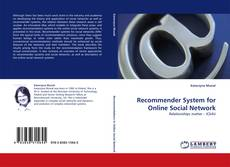 Bookcover of Recommender System for Online Social Network