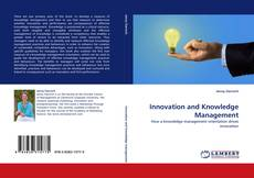 Couverture de Innovation and Knowledge Management