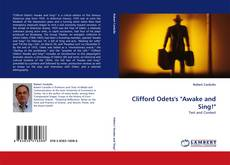 """Bookcover of Clifford Odets's """"Awake and Sing!"""""""