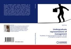 Undergraduate representations of management的封面