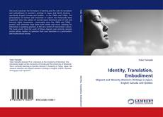 Bookcover of Identity, Translation, Embodiment