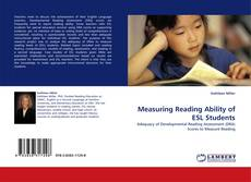 Bookcover of Measuring Reading Ability of ESL Students