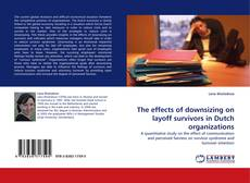 Bookcover of The effects of downsizing on layoff survivors in Dutch organizations